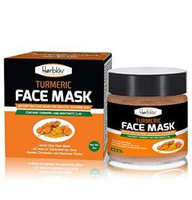 Skin Brightening Mask with Turmeric and Bentonite Clay